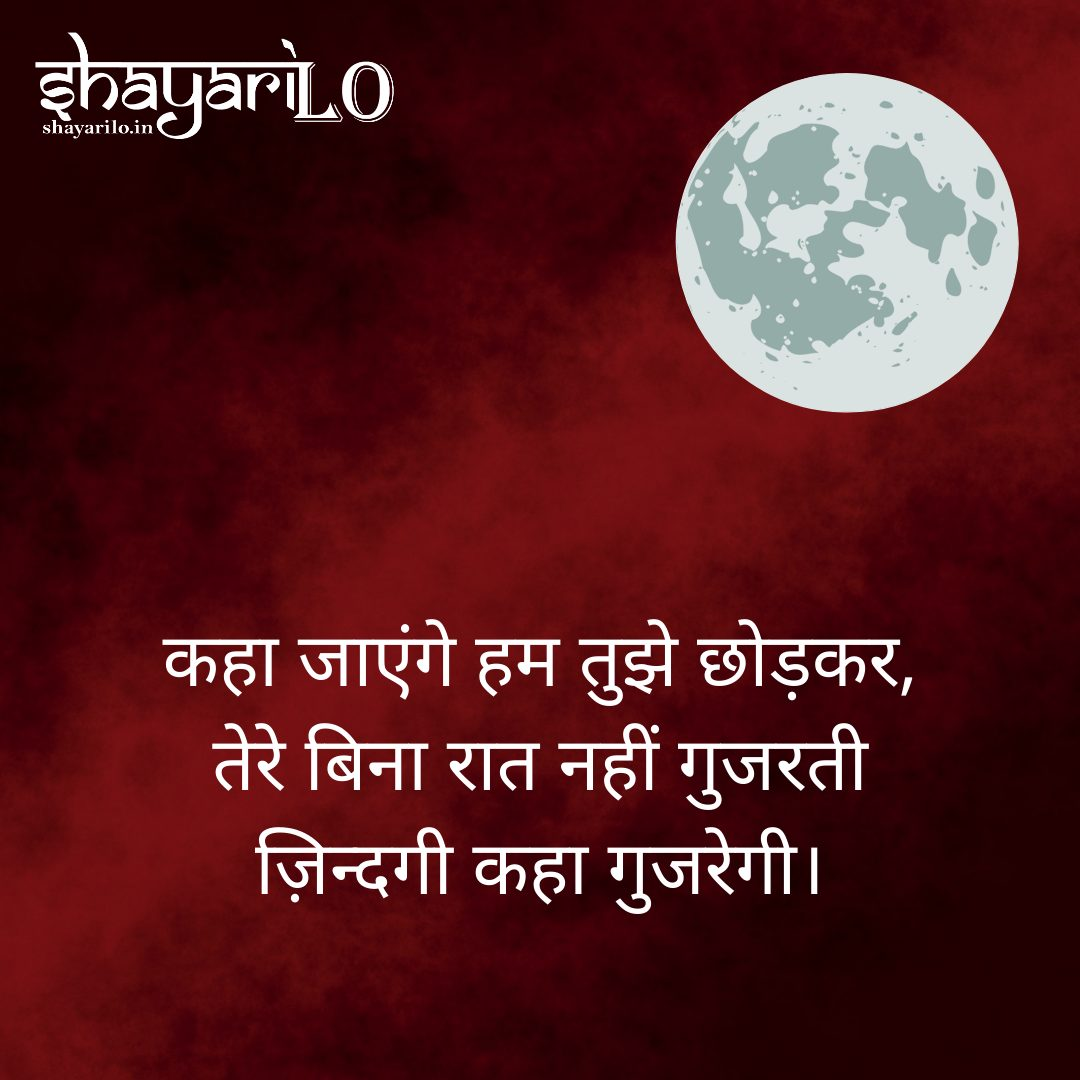 Romantic love shayari in hindi 8