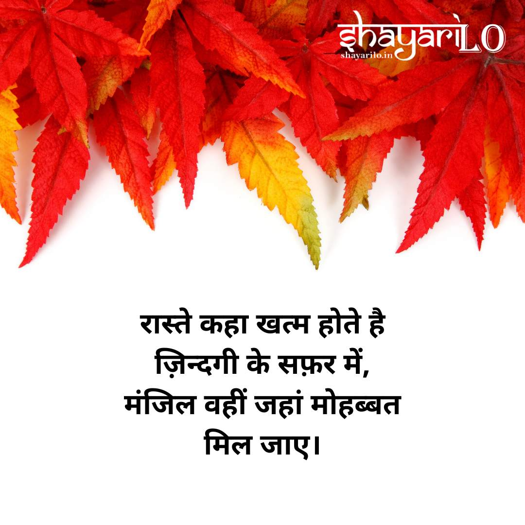 Romantic love shayari in hindi 13
