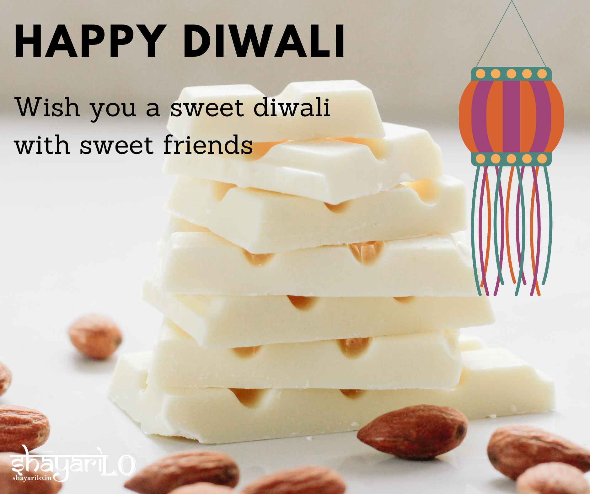 Sweet diwali wishes